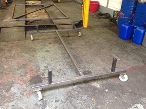 Mk1 Ford Escort Restoration Trolley