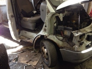 Ford Transit body repairs