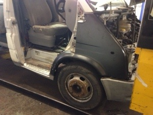 Ford transit body repairs portsmouth