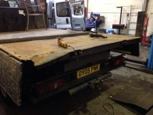 Ford Tipper Headboard Repair