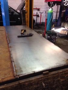 Ford Transit Welding & Fabrication: Headboard