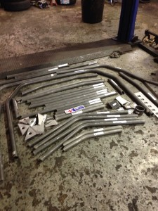 weld-in roll cage kit fitters