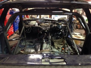 Nissan Weld-in Roll Cage