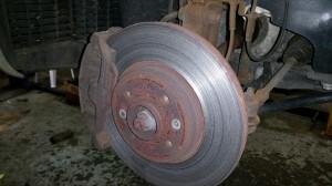 renault scenic brake discs pads