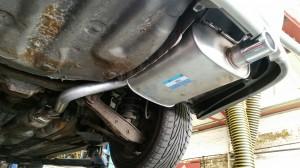 Lexus Altezza Exhaust Replacement