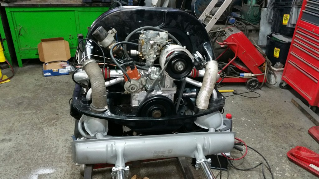 VW Trekker Engine repair and refresh