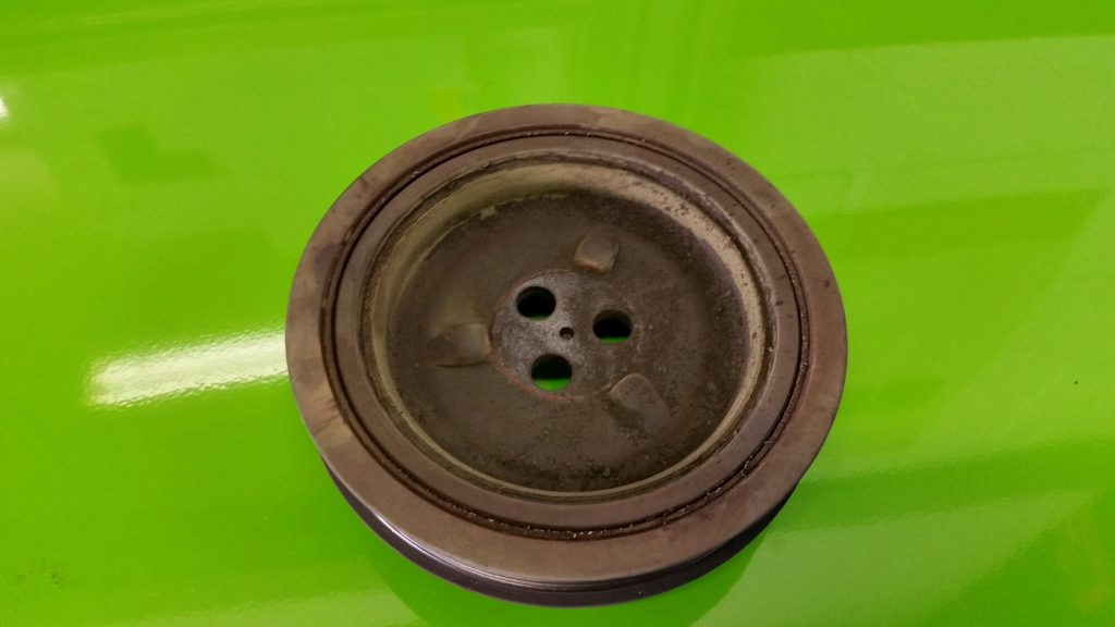 Fiat Ducato Anti Vibration Pulley Replacement
