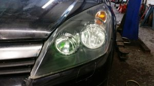 faded & foggy headlamps