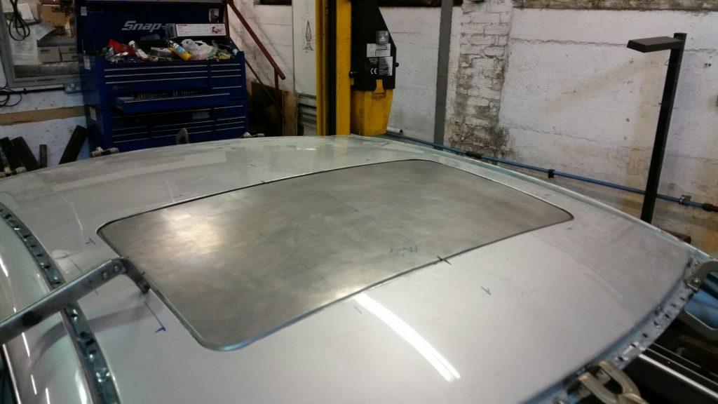 sun roof fabrication