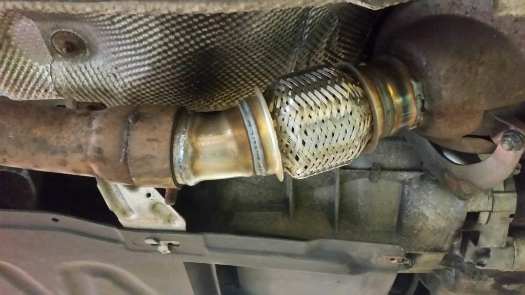 exhaust repairs portsmouth, flexi joint exhaust repairs