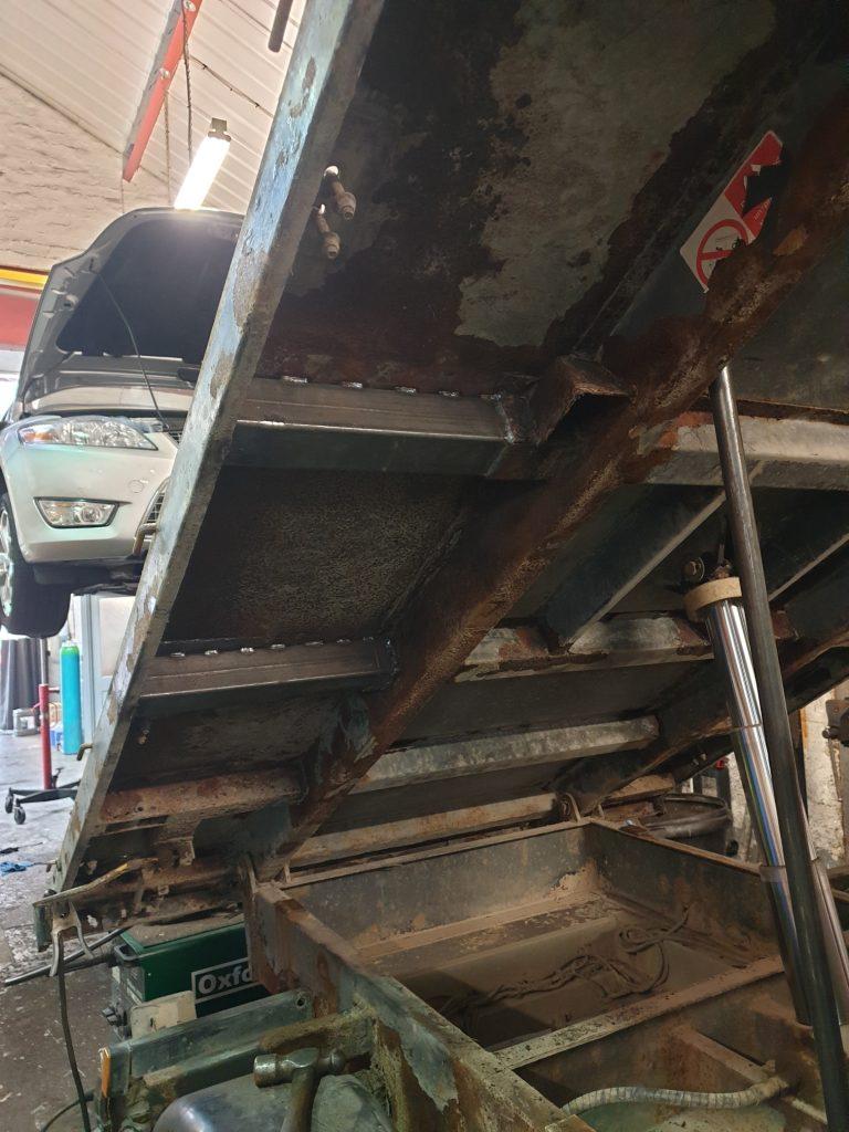 renault master truck body fabrication repairs